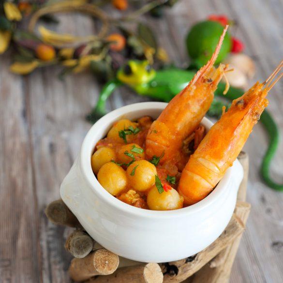 Dombré ouassous crevettes