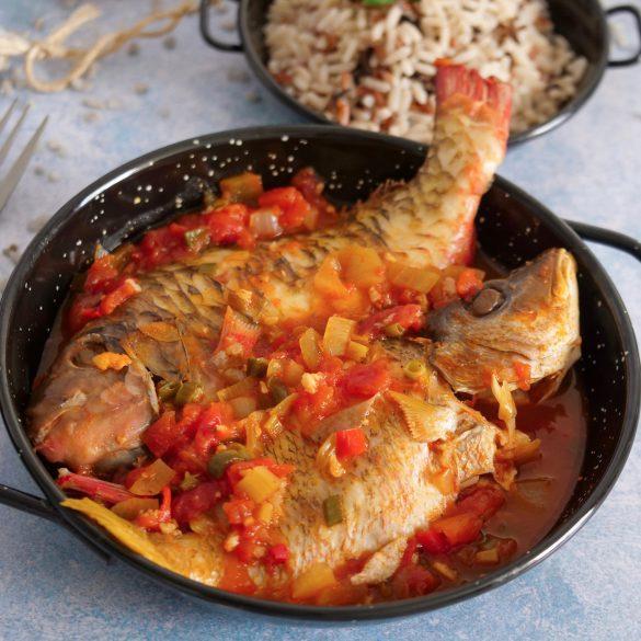 court-bouillon de poisson à la créole