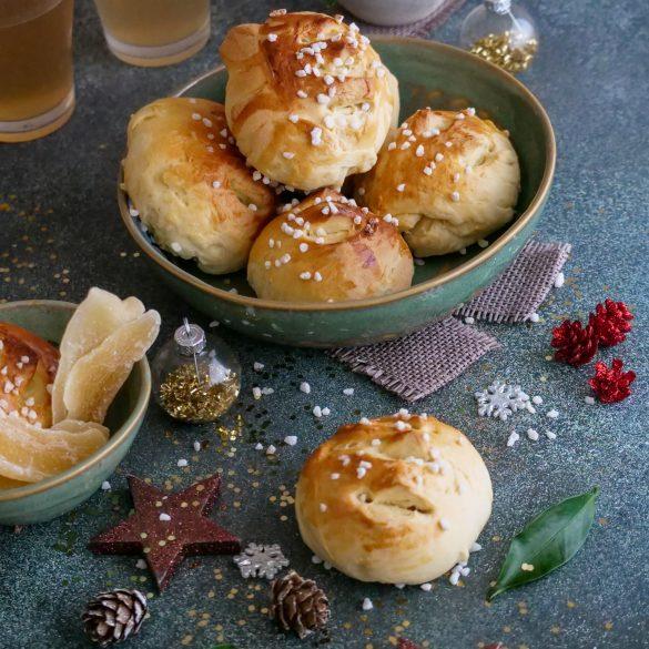pain au beurre aux fruits exotiques confits