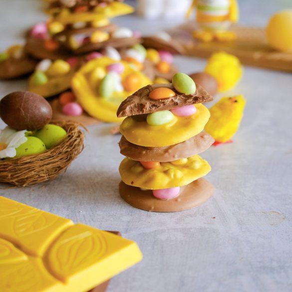 Mendiants de Pâques au chocolat de Guadeloupe