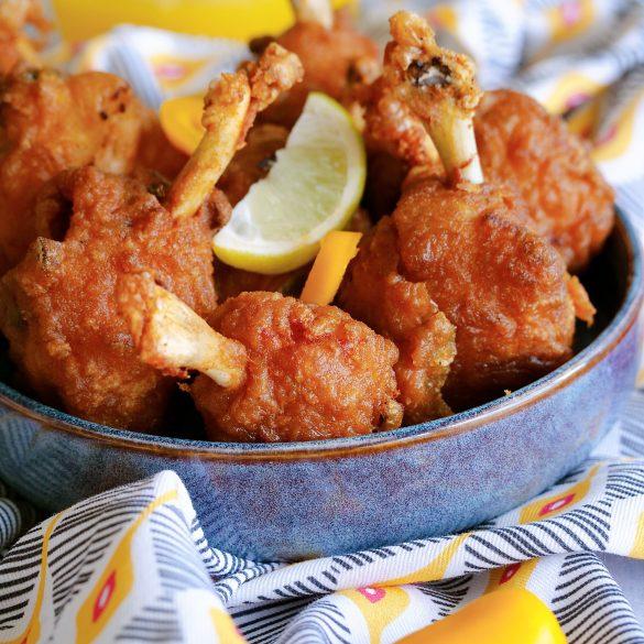 manchons de poulet à la créole